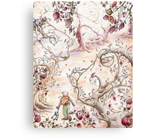 Frog Forest Canvas Print