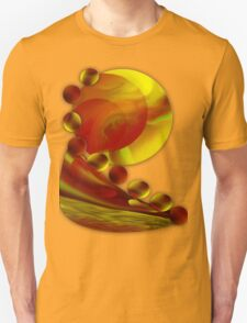 Life flowing - Abstract-wall art+Product Design T-Shirt
