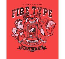 Fire Champ Photographic Print