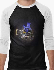 Nightscape Jacksonville Men's Baseball ¾ T-Shirt