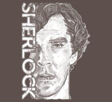 Sherlock - Benedict Cumberbatch Baby Tee