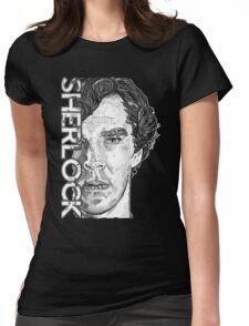 Sherlock - Benedict Cumberbatch Womens Fitted T-Shirt