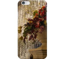 Of Flower Arrangements and Sparkling Crystals iPhone Case/Skin