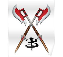 Buffy -- Scythes Crossed Poster