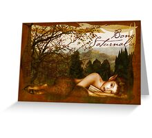Bona Saturnalia Greeting Card
