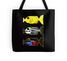 The Hitchhikers Guide to the Galaxy - 3 Babel Fish Tote Bag