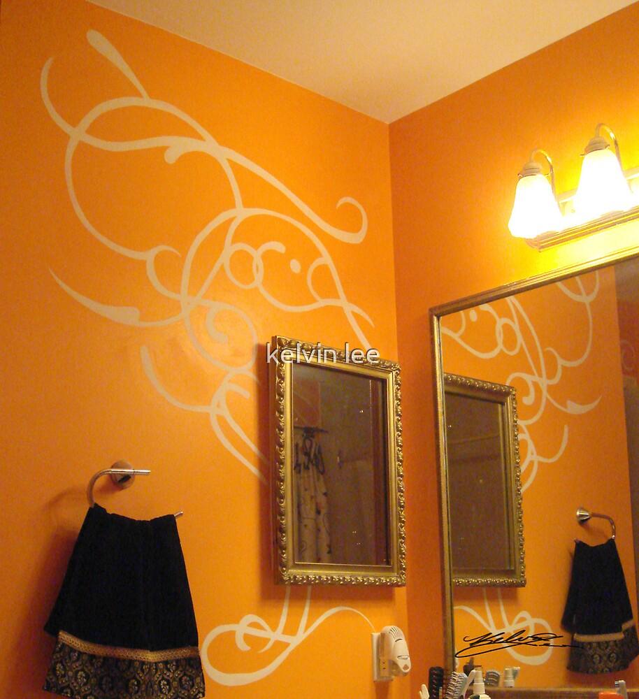 Pattern Design in Bathroom by kelvin lee