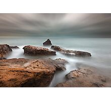 Red Rocks of Half Moon Bay Photographic Print