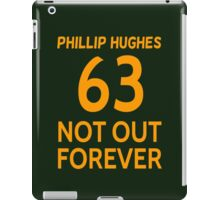 Phillip Hughes - 63 Not Out Forever  iPad Case/Skin