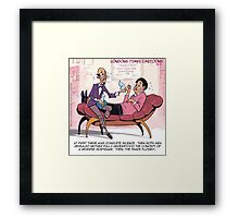 What Is A Reverse Mortgage?  Framed Print