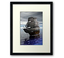 Ship Framed Print