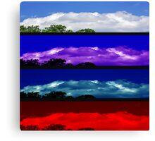 Attitudes of the Sky Canvas Print