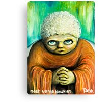 Meet nanna hawkies Canvas Print