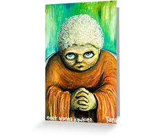 Meet nanna hawkies Greeting Card