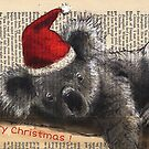 Christmas Koala by Michele Meister