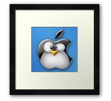 Linux Apple Framed Print