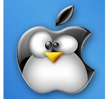Linux Apple Photographic Print