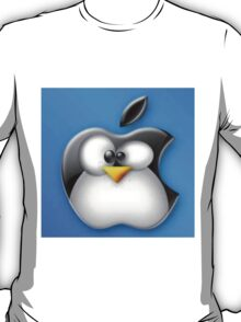Linux Apple T-Shirt
