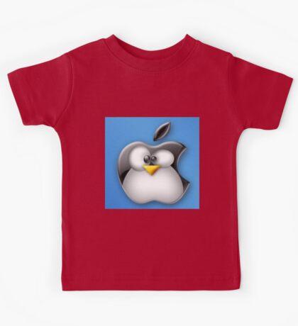 Linux Apple Kids Tee