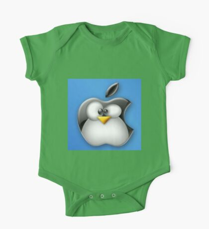 Linux Apple One Piece - Short Sleeve