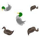 Ducks by pda1986