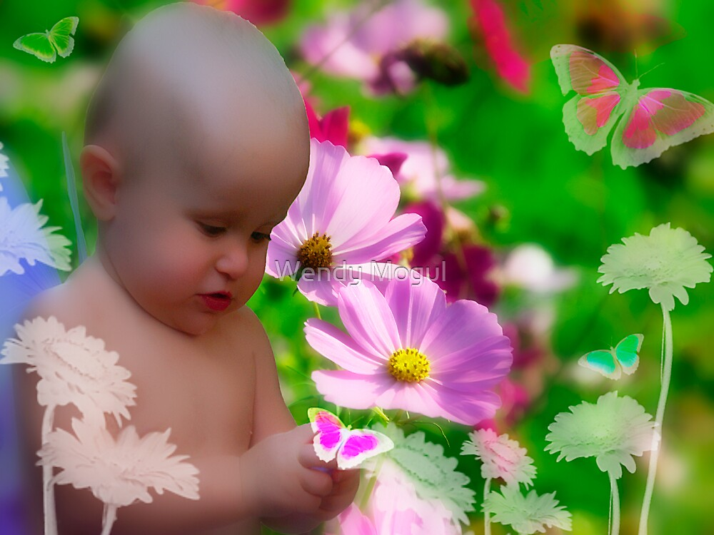 Fantasy Garden by Wendy Mogul