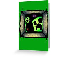 hello-creepers Greeting Card