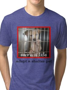 Save a Life Tri-blend T-Shirt