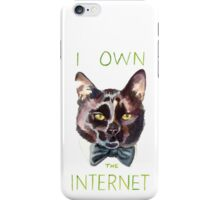 Cats Own The Internet iPhone Case/Skin