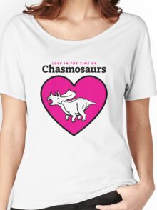 Love in the Time of Chasmosaurs logo: full color Women's Relaxed Fit T-Shirt