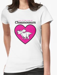 Love in the Time of Chasmosaurs logo: full color Womens Fitted T-Shirt