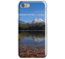 Manzanita Lake Full of Fall Leaves iPhone Case/Skin