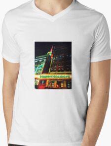 Happy Holidays - NYC Mens V-Neck T-Shirt