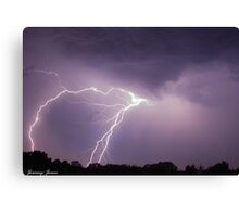 Electrically Charged! Canvas Print