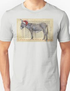Donkey Christmas card T-Shirt