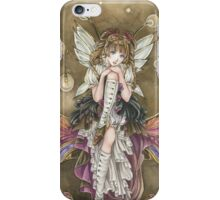 Gears and Glass Steampunk Fairy iPhone Case/Skin