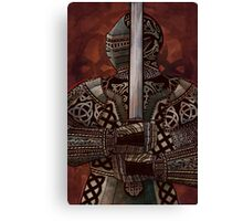Celtic Knotted Knight Canvas Print