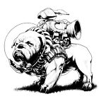 Jetpack Dog   Bulldog by Gregory Titus