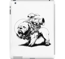 Jetpack Dog | Bulldog iPad Case/Skin