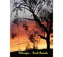 Wilmington Sunset Photographic Print