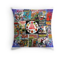 Make Mine Marvel Throw Pillow