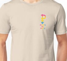 Pansexual HEARTS NOT PARTS! Unisex T-Shirt