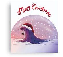 Antarctic Christmas Canvas Print