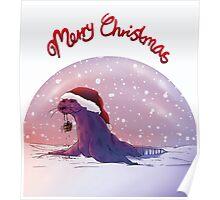 Antarctic Christmas Poster