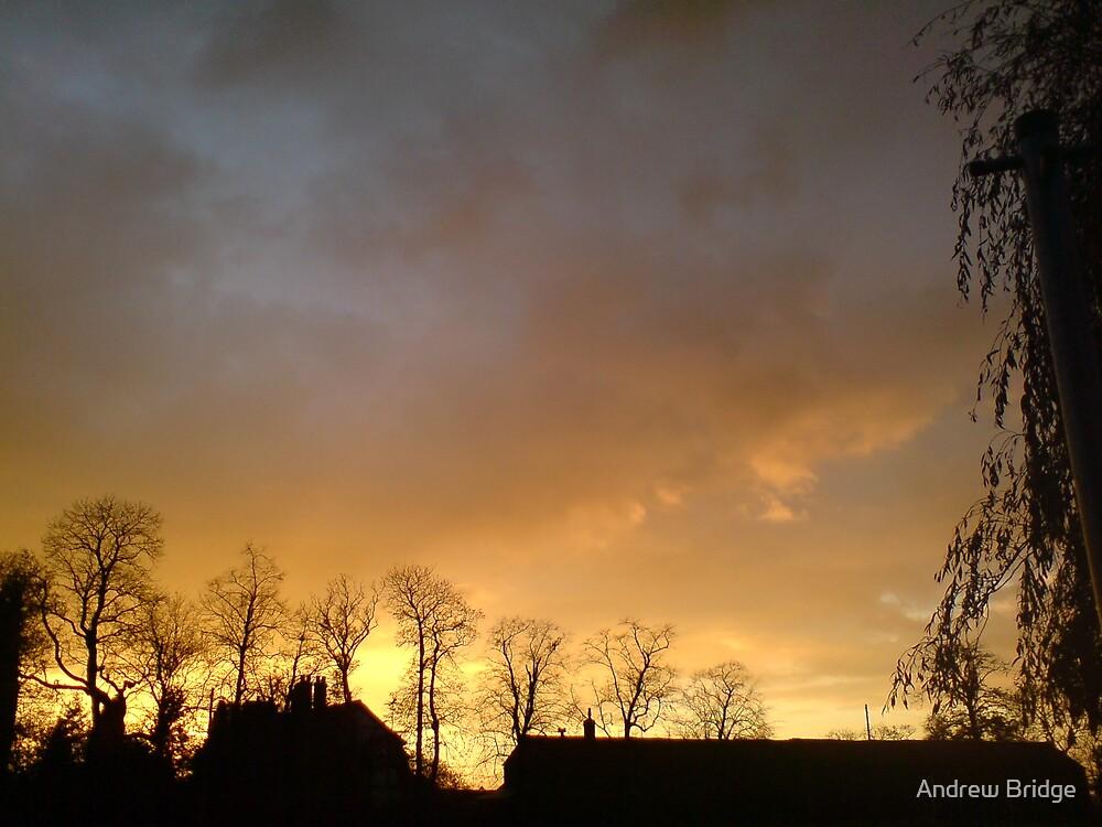 Autumn Skys by Andrew Bridge