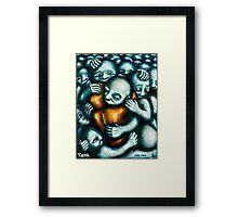 Sea tea Framed Print