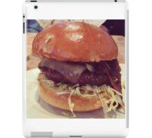 Bacon Cheeseburger Photo iPad Case/Skin