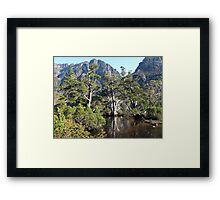 Artists Pool Cradle Mountain Framed Print
