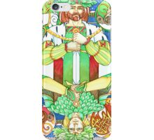 Oak and Holly Kings  iPhone Case/Skin