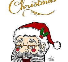 Santa - Merry Christmas by Tom Gant